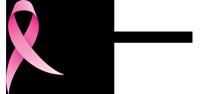Rosa sløyfe-løpet Logo