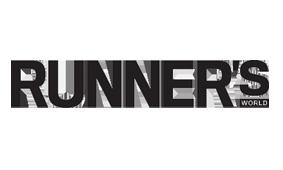 Logo til samarbeidspartner for Rosa sløyfe-løpet Runners World