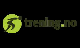 Logo til samarbeidspartner for Rosa sløyfe-løpet, Trening.no
