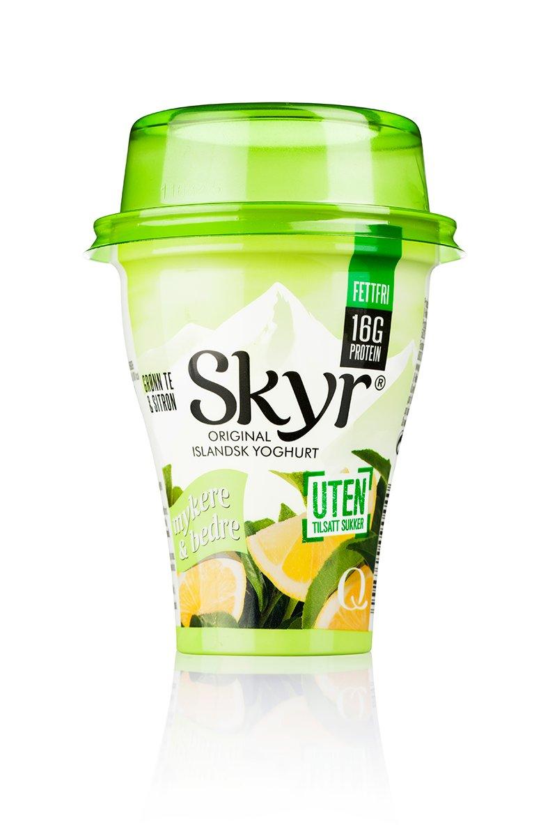Skyr Grønn te og sitron